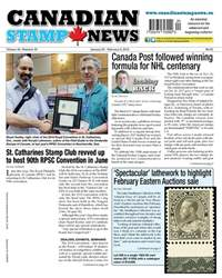 Canadian Stamp News issue V42#20