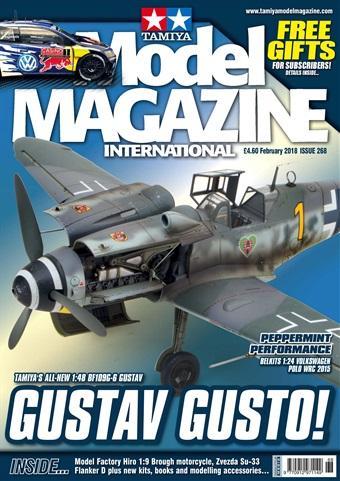 Tamiya Model Magazine issue 268 February 2018
