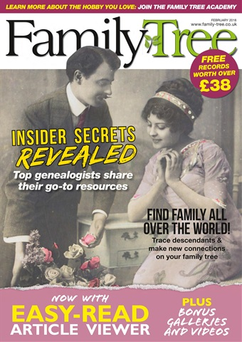 Family Tree issue Family Tree February 2018