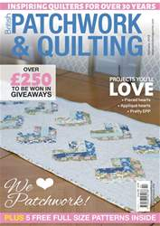 Patchwork and Quilting issue Feb-18