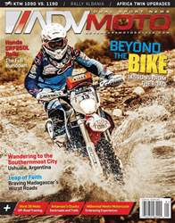 Adventure Motorcycle issue Jan/Feb 2018