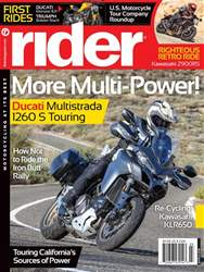 Rider Magazine issue March 2018