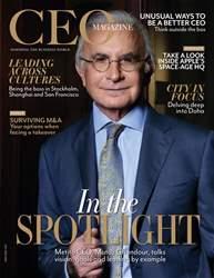 The CEO Magazine EMEA Magazine Cover
