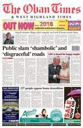 The Oban Times & Lochaber Times issue 11 January 2018