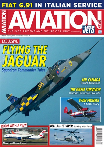 Aviation News incorporating JETS Magazine issue   February 2018