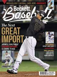 Beckett Baseball issue February 2018