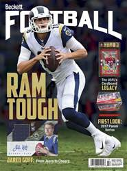 Beckett Football issue February 2018