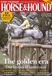 Horse & Hound issue 11th January 2018