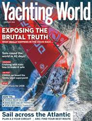 Yachting World issue February 2018