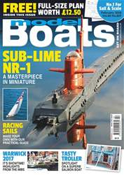 Model Boats issue February 2018