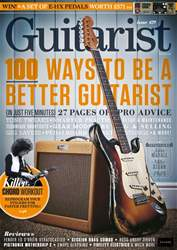 Guitarist issue February 2018