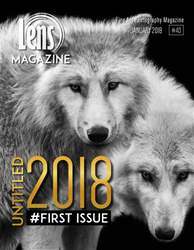 Lens Magazine issue Issue#40 January 2018
