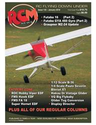 Radio Control Model News issue RCM News Issue 145