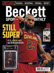 Sports Card Monthly issue February 2018