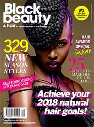Black Beauty & Hair – the UK's No. 1 black magazine issue Black Beauty & Hair February/March 2018