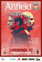 Liverpool FC Programmes issue vs Manchester City 17/18