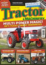 Tractor & Machinery issue March 2018