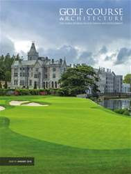 Golf Course Architecture issue January 2018