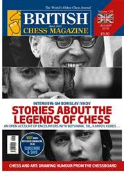British Chess Magazine issue January 2018