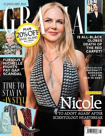 Grazia issue 22nd January 2018
