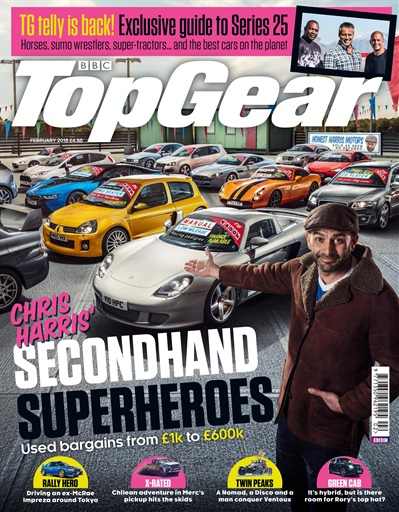top gear magazine february 2018 subscriptions pocketmags. Black Bedroom Furniture Sets. Home Design Ideas
