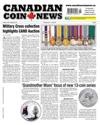 Canadian Coin News issue V55#22 - Feb. 6
