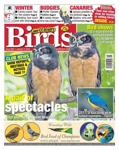 Cage & Aviary Birds issue 17 January 2018