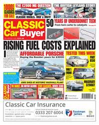 Classic Car Buyer issue 17 January 2018