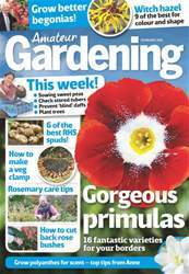 Amateur Gardening issue 20th January 2018