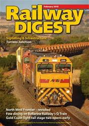 Railway Digest issue February 2018