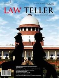 Lawteller – A Legal Awareness Magazine issue Jan. 2018