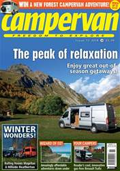 Campervan issue Peak of relaxation (Issue 11 2018)