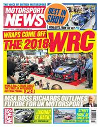 Motorsport News issue 17th January 2018