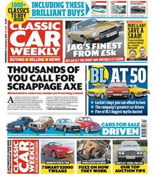 Classic Car Weekly issue 17th January 2018