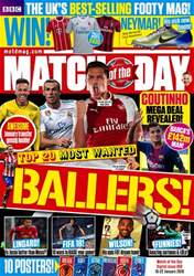 Match of the Day issue Match of the Day