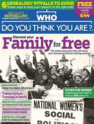 Who Do You Think You Are? issue February 2018