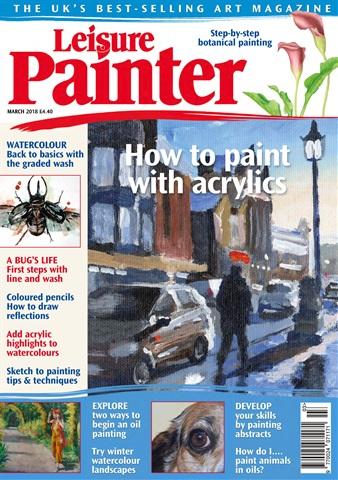 Leisure Painter issue Mar-18