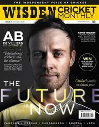 Wisden Cricket Monthly issue January 2018