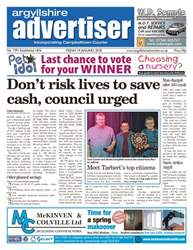 Argyllshire Advertiser issue 19th  January 2018
