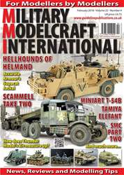 Military Modelcraft International issue February 2018