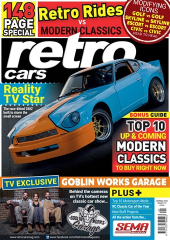 Retro Cars issue Spring 2018