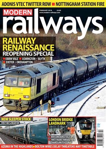 Modern Railways issue   February 2018