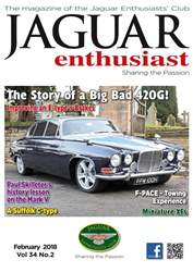 Jaguar Enthusiast issue February 2018