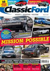 Classic Ford issue March 2018