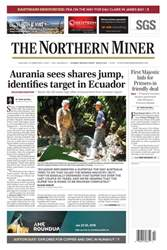 The Northern Miner issue Vol. 104 No. 2