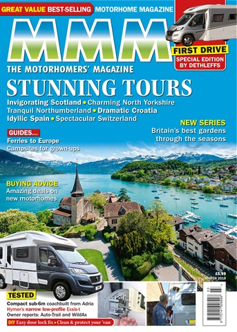 MMM magazine issue Stunning Tours March 2018