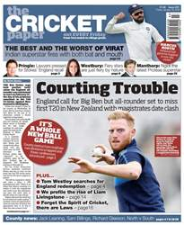 The Cricket Paper issue 19th January 2018