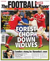 The Football League Paper issue 21st January 2018