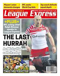 League Express issue 3105
