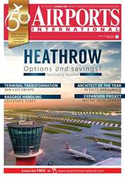 Airports International issue Jan/Feb 2018